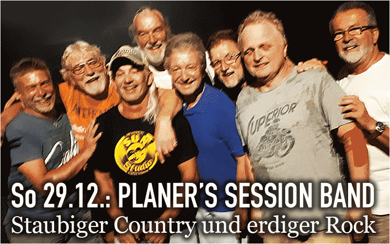 Planers Session Band